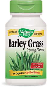 Barley Grass Young Harvest 100 Capsules - Product Image