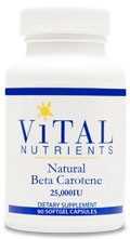 Beta Carotene (natural) 90 caps - Product Image