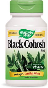 Black Cohosh Root 100 Vcaps - Product Image