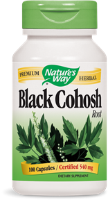 Black Cohosh Root Capsules - Product Image
