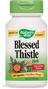 Blessed Thistle Herb 100 Capsules - Product Image