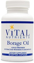 Borage Oil  60 caps/1000mg - Product Image