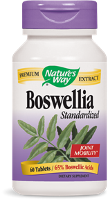 Boswellia Standardized 60 Tablets - Product Image