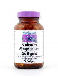 Calcium Magnesium Zinc Plus Vitamin D3 Softgels - Product Image