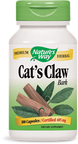 Cat's Claw Bark 100 Capsules - Product Image