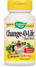 Change-O-Life® 7 Herb Blend Capsules - Product Image