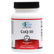 CoQ-10 Soft Gel Capsules - Product Image