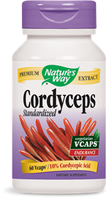 Cordyceps Standardized 60 Vcaps - Product Image