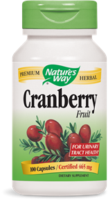 Cranberry Fruit 100 Capsules - Product Image