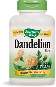 Dandelion Root 180 Vcaps - Product Image