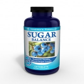 Dr. Vanessa - Sugar Balance Support 60 Tabs - Product Image