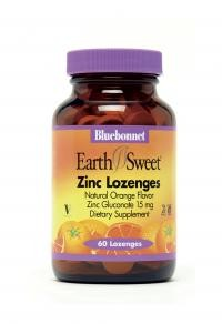 EarthSweet® Zinc 15 mg 60 Lozenges - Product Image