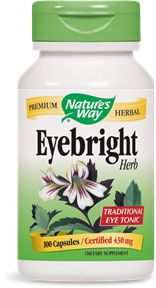 Eyebright Herb 100 Capsules - Product Image