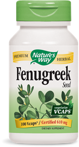 Fenugreek Seed 100 Vcaps - Product Image