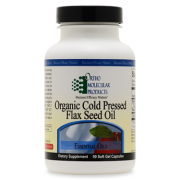 Flax Seed Oil 90CT Soft Gel Capsules - Product Image
