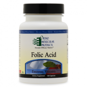 Folic Acid 120CT Capsules - Product Image
