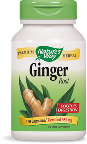 Ginger Root Capsules - Product Image