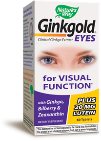 Ginkgold® Eyes 60 Tablets - Product Image