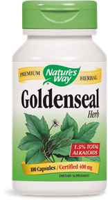 Goldenseal Herb Capsules - Product Image