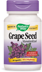 Grape Seed Standardized 30 Capsules - Product Image