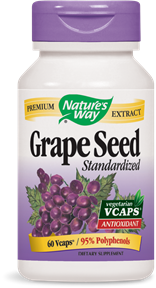 Grape Seed Standardized 60 Vcaps - Product Image