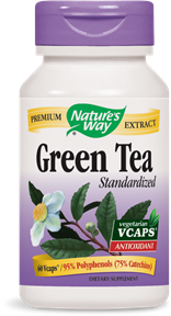 Green Tea Standardized 60 Vcaps - Product Image
