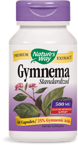 Gymnema Standardized 60 Capsules - Product Image