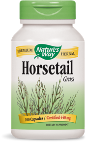 Horsetail Grass 100 Capsules - Product Image