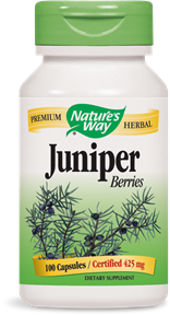 Juniper Berries 100 Capsules - Product Image