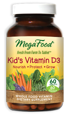 Kid's Vitamin D3 60 Tablets - Product Image