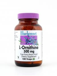 L-Ornithine 500 mg Vcaps - Product Image