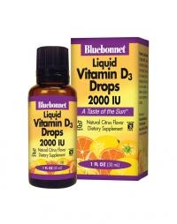 Liquid Vitamin D3 Drops 2000 IU (1 Fluid oz) - Product Image