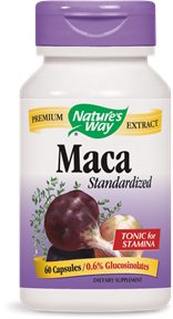 Maca Standardized 60 Capsules - Product Image