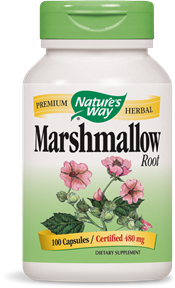 Marshmallow Root 100 Capsules - Product Image