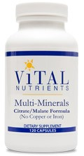 Multi-Minerals 120 caps - Product Image