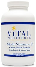 Multi-Nutrients 2 180 caps - Product Image