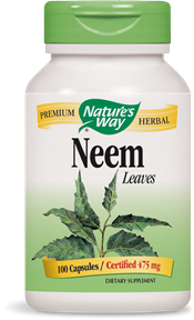 Neem Leaves 100 Capsules - Product Image