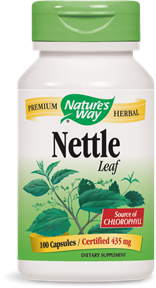 Nettle Leaf 100 Capsules - Product Image