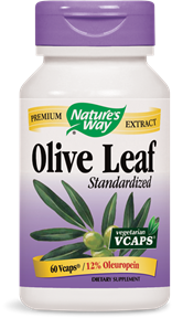 Olive Leaf Standardized 12% 60 Vcaps - Product Image