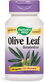Olive Leaf Standardized 60 Capsules - Product Image