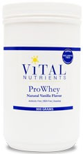 ProWhey with Natural Vanilla Flavor 90 0g - Product Image