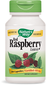 Red Raspberry Leaves 100 Capsules - Product Image