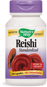 Reishi Standardized 100 Capsules - Product Image