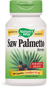Saw Palmetto Berries Capsules - Product Image