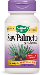 Saw Palmetto Standardized 60 Softgels - Product Image