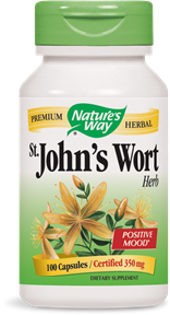 St. John's Wort Herb Capsules - Product Image