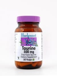 Taurine 500 mg 50 Vcaps - Product Image