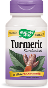 Turmeric Standardized Tablets - Product Image