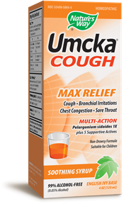 Umcka® Cough Syrup 4oz. - Product Image