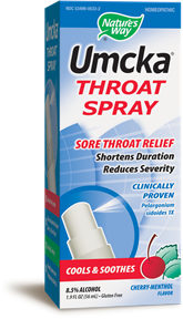Umcka® Throat Spray 1.9 fl. oz. - Product Image